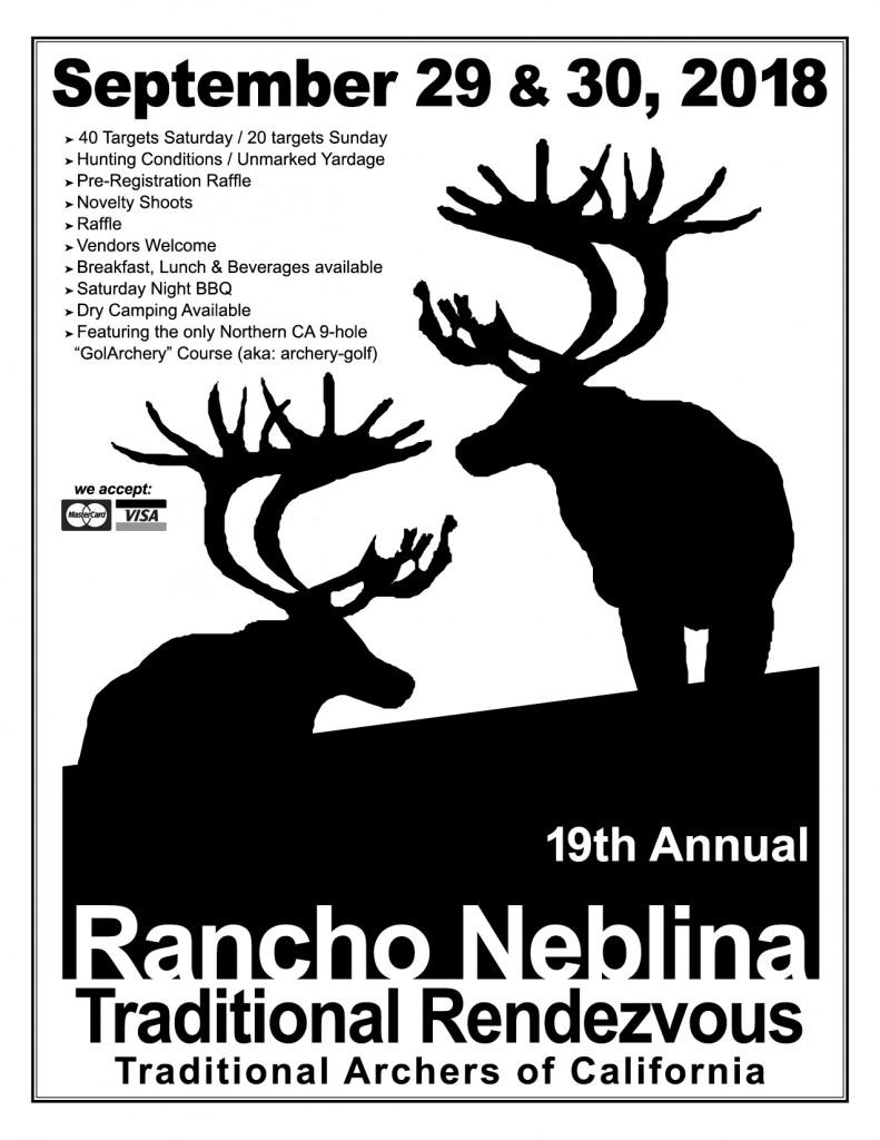Rancho Neblina Sept 2018 front